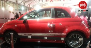 Auto Expo 2014 Fiat Punto Abarth Exteriors Side View