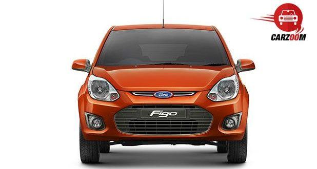Auto Expo 2014 Ford Figo Facelift Exteriors Front View
