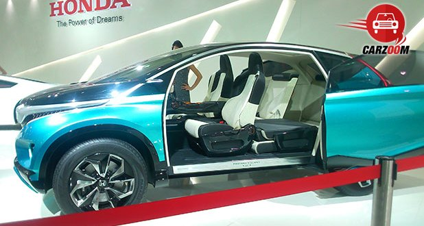 Auto Expo 2014 Honda Vision XS-1 Concept Exteriors Side View