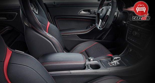 Auto Expo 2014 Mercedes-Benz CLA 45 AMG Interiors Seats