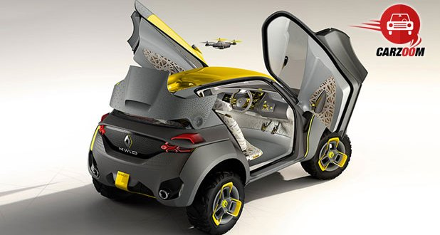 Auto Expo 2014 Renault KWID concept Exteriors Side View