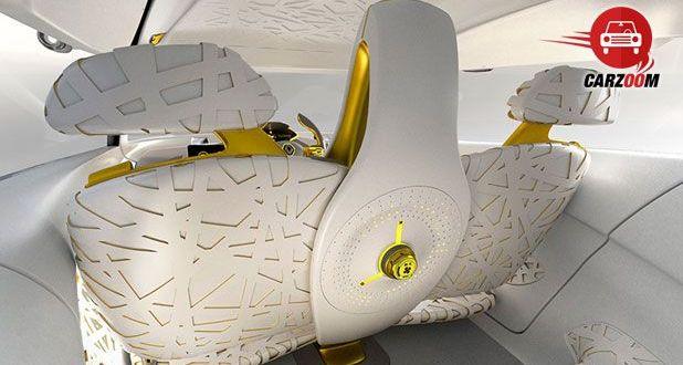 Auto Expo 2014 Renault KWID concept Interiors Bootspace