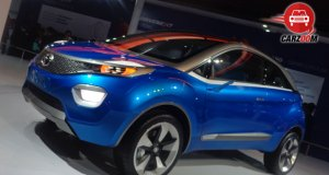 Auto Expo 2014 Tata Nexon Concept Exteriors Overall