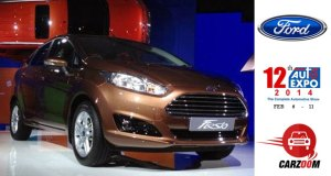 Auto Expo News & Updates - Ford to Showcase New Ford Fiesta