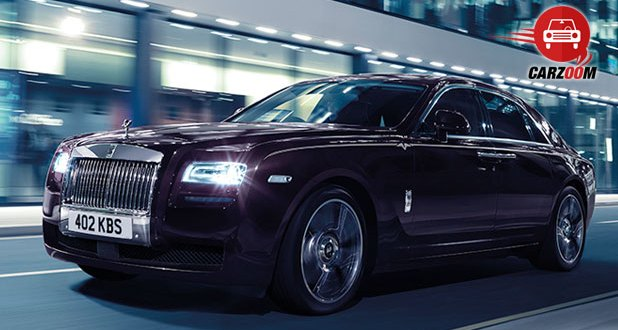Rolls-Royce Ghost V-Specification Exteriors Front View