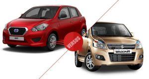 Datsun Go vs Maruti Suzuki Wagon-R