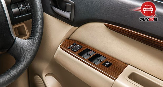 2014 Ford Endeavour Interiors One Touch Up-Down Power Windows
