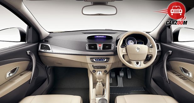 Renault Fluence Facelift Interiors Dashboard