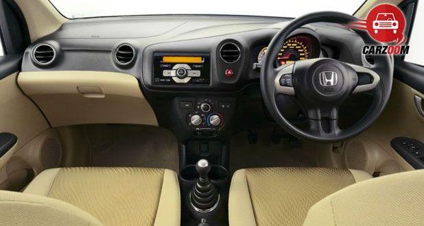 Honda Amaze Interiors Dashboard
