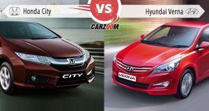 New Honda City 2014 vs Hyundai Verna