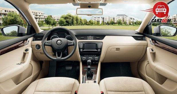 New Skoda Octavia Interiors Dashboard