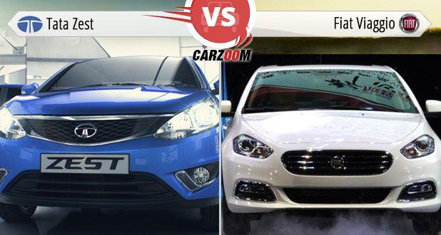 Tata Zest Vs Fiat Viaggio