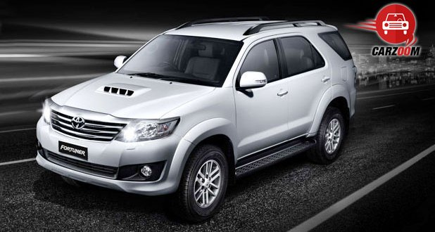Toyota Fortuner Exteriors Side View