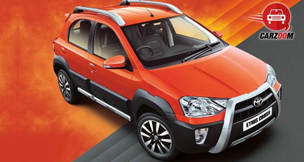 Toyota Etios Cross Exteriors Top View