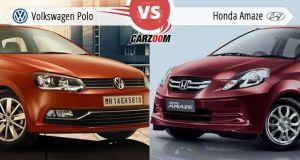 Volkswagen Polo vs Honda Amaze