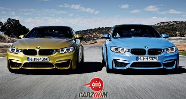 BMW M4 Coupe and BMW M4 Coupe