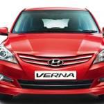 New 4S Fluidic Hyundai Verna Exteriors Front View