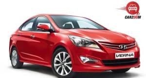 New 4S Fluidic Hyundai Verna Exteriors Front and Side View