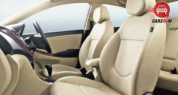New 4S Fluidic Hyundai Verna Interiors Seats