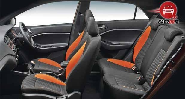 Hyundai i20 Active Interiors Seats View
