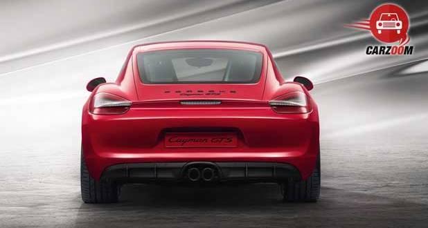 Porsche Cayman GTS Exteriors Back View