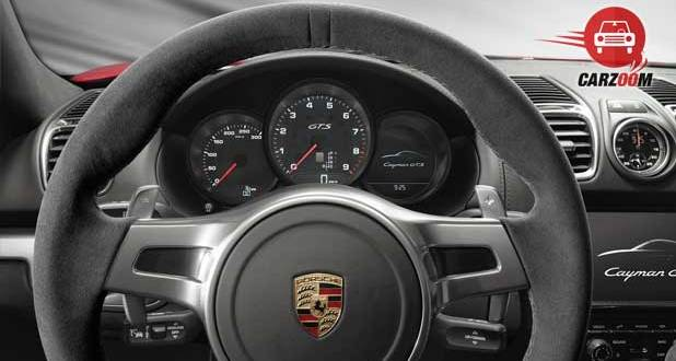 Porsche Cayman GTS Interiors Dashboard