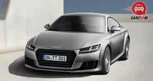 Audi TT Coupe Exteriors Front View