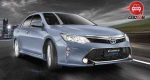 Toyota Camry Exteriors Front and Side View