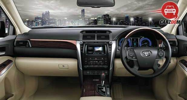 Toyota Camry Interiors Dashboard