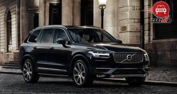 Volvo XC90 Exnteriors Side and Front View