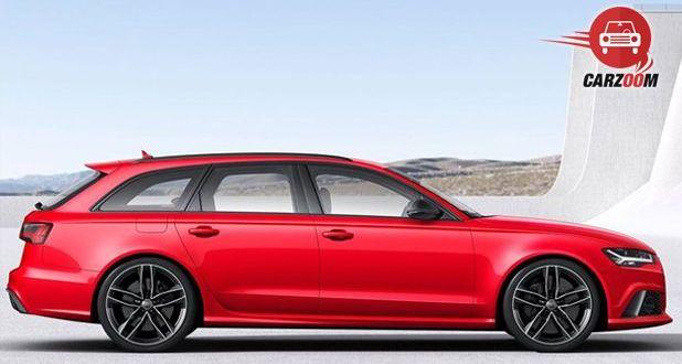Audi RS 6 Avant Side View
