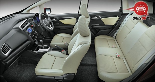 Honda Jazz Interior Seat View
