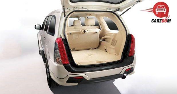 Isuzu MU 7 AT Premium Interior BootSpace