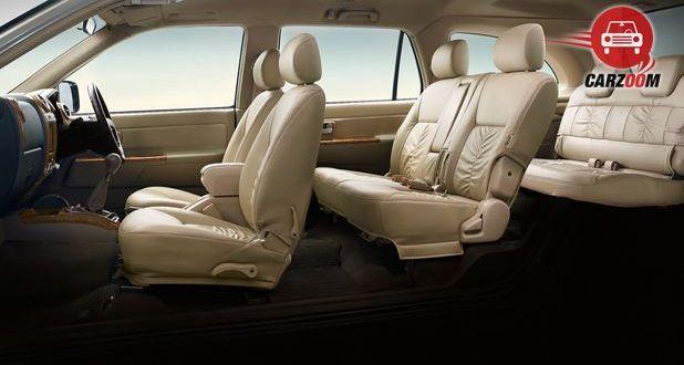 Isuzu MU 7 AT Premium Interior Seat View
