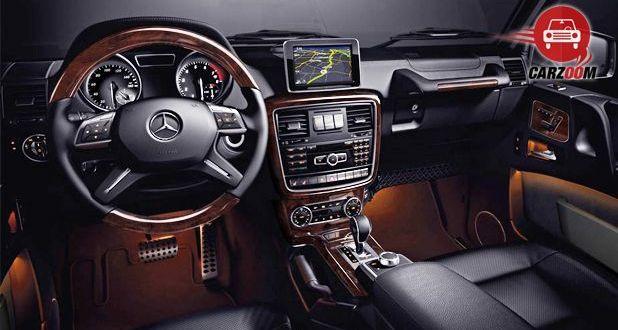 Mercedes Benz G Class G63 AMG Interior View