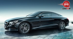 Mercedes-Benz S-Class Coupe Exterior Side View