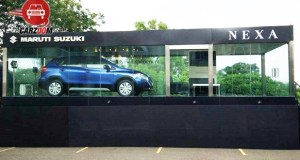 Nexa dealership with S Cross Launch
