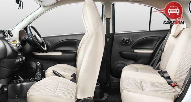Nissan Micra Active Interior View