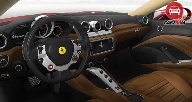 Ferrari California T Interior Dashboard