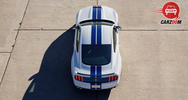 Ford Shelby GT350 Back Top View