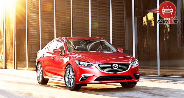 Mazda6 Exterior Front and Side View