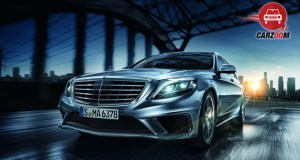 Mercedes Benz S 63 AMG Sedan Exterior Front View