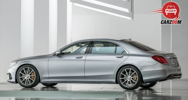 Mercedes Benz S 63 AMG Sedan Exterior Side View