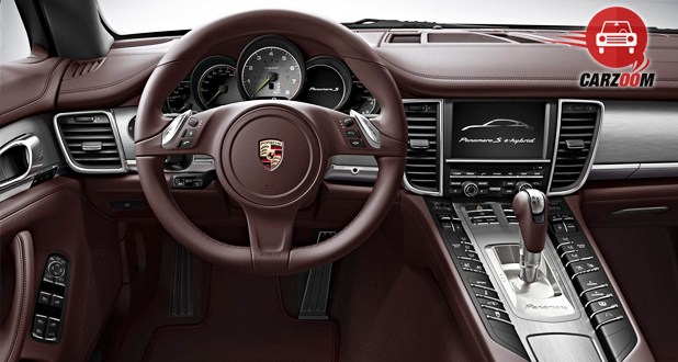 Porsche Panamera Turbo S Dashboard View