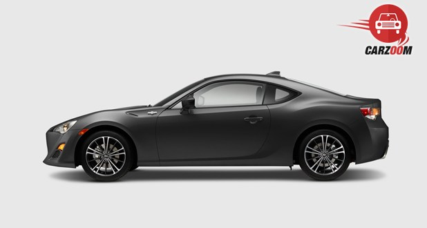Scion FR-S Side View Gray Color