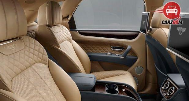 Bentley Bentayga Interior Seat View