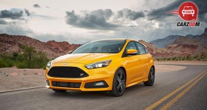 Ford Focus Electric Exterior Front and Side View