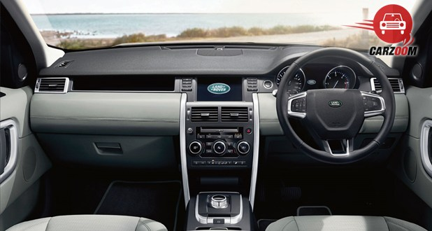 Land Rover Discovery Sport Exterior Dashboard View
