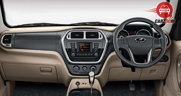 Mahindra TUV300 Interior Dashboard View