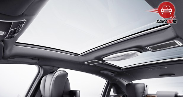 Mercedes Maybach S-Class Sunroof View